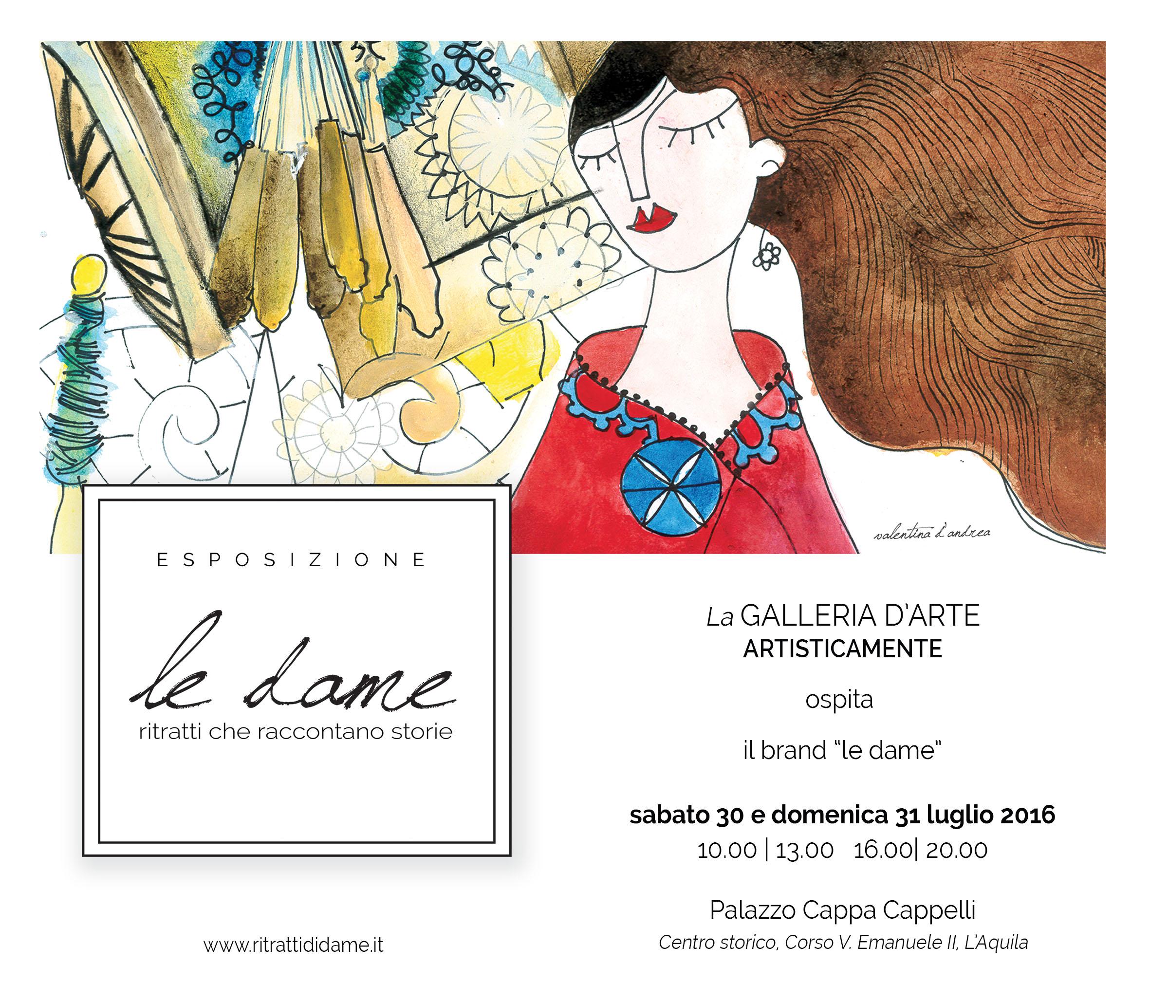 """""""Le Dame"""" – Il brand diventa itinerante"""